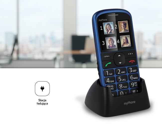 myPhone Halo 2 - telefon z bazą