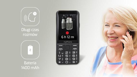 myPhone Halo Q+ - Długi czas rozmów