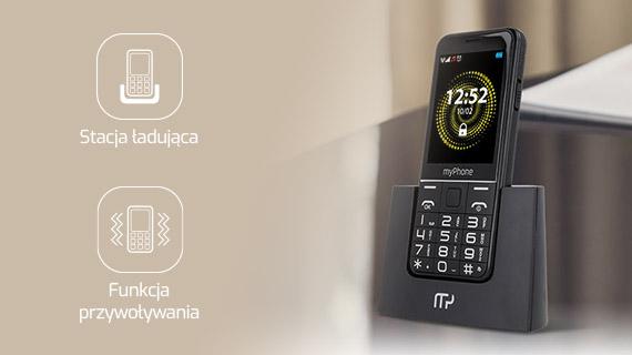 myPhone Halo Q+ - Banalne ładowanie i odnajdywanie telefonu