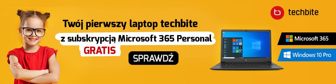 Microsoft - laptop z office 365