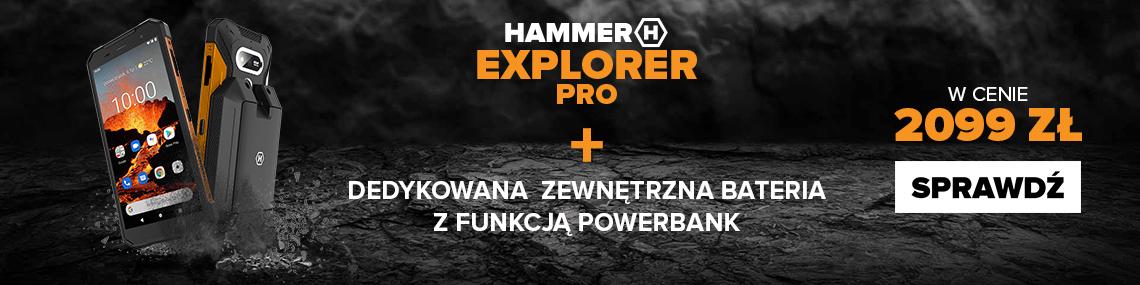 HAMMER Explorer PRO + bateria