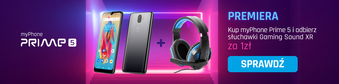 Prime 5 + słuchawki