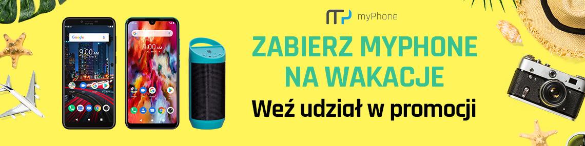 Kup myPhone City 2 lub Pocket Pro i odbierz głośnik.