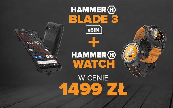 Blade 3 + watch